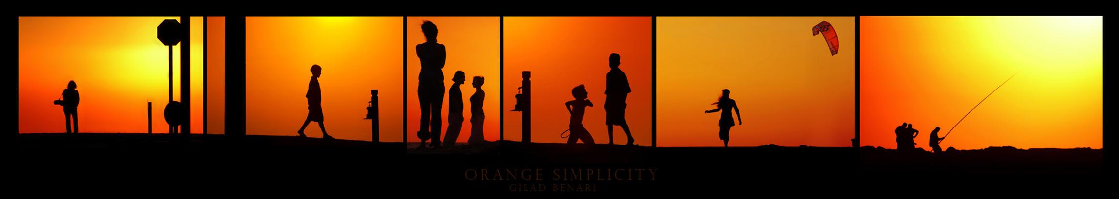 Orange Simplicity by gilad