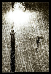 Hard rain by gilad