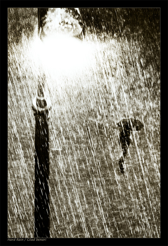 Hard rain by gilad