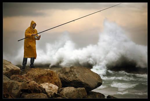 Stormy Fishing