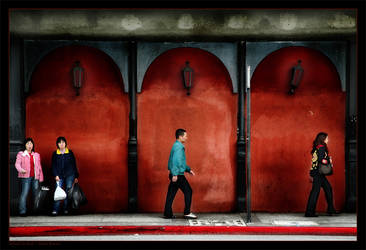Moving ahead in Red by gilad