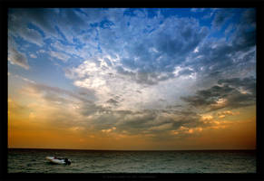 To stay dry Under the sky by gilad