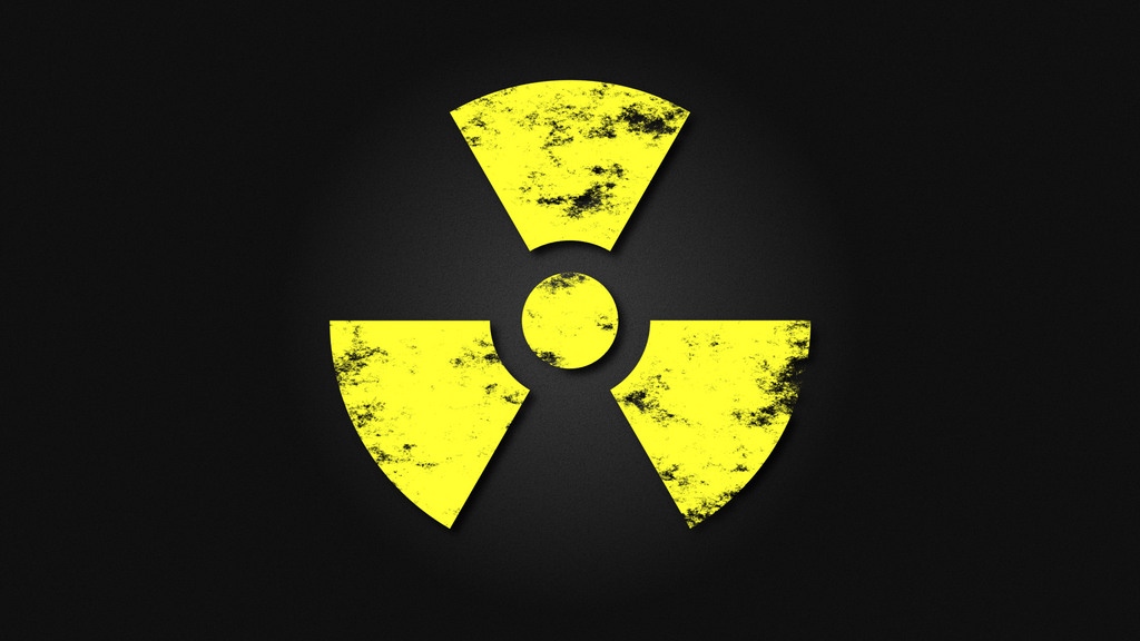 Radiation Hazard (Grunge Widescreen) by SocratesJedi