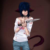 Psycho Catboy by robotRainbows