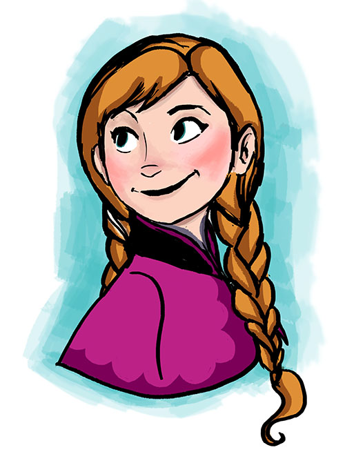 Frozen: Anna by nocturnewitch