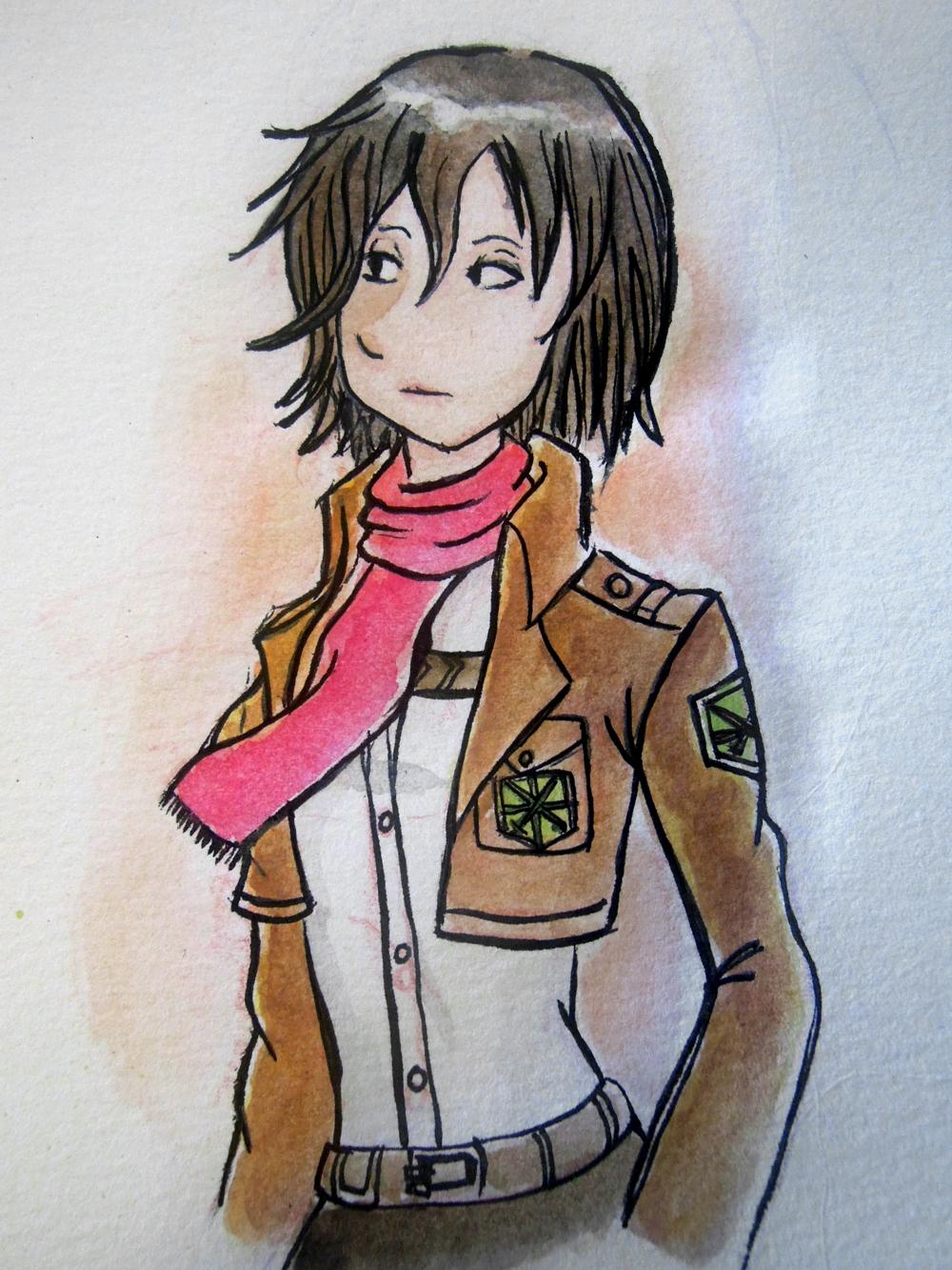Mikasa by IdaRahayu