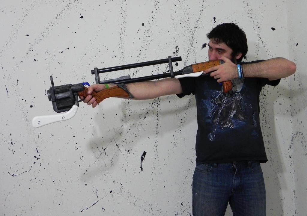 High noon Jhin guns League of Legends by TheGoblinFactory