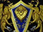 Alliance crest world of warcraft
