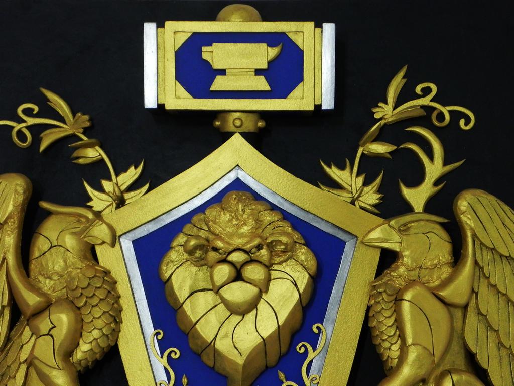 Alliance crest world of warcraft by TheGoblinFactory