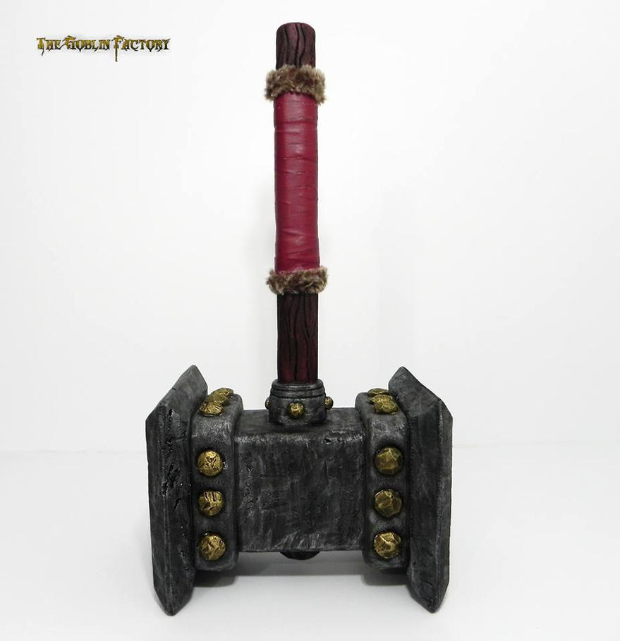 Doomhammer World of Warcraft by TheGoblinFactory
