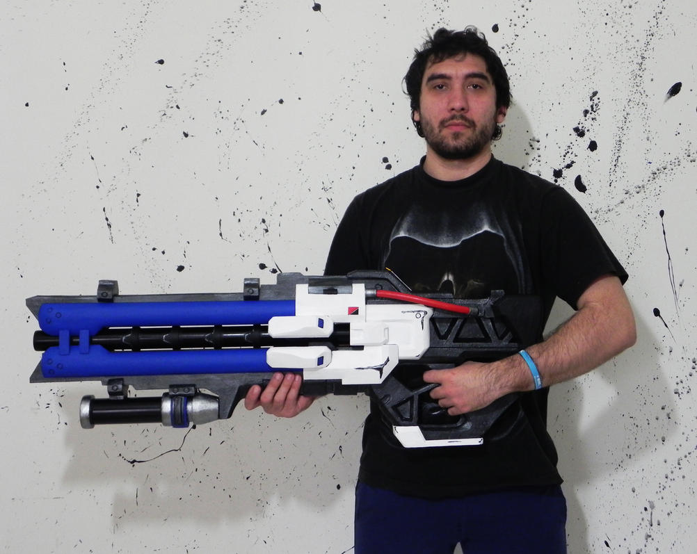 Soldier: 76 heavy pulse rifle Overwatch by TheGoblinFactory