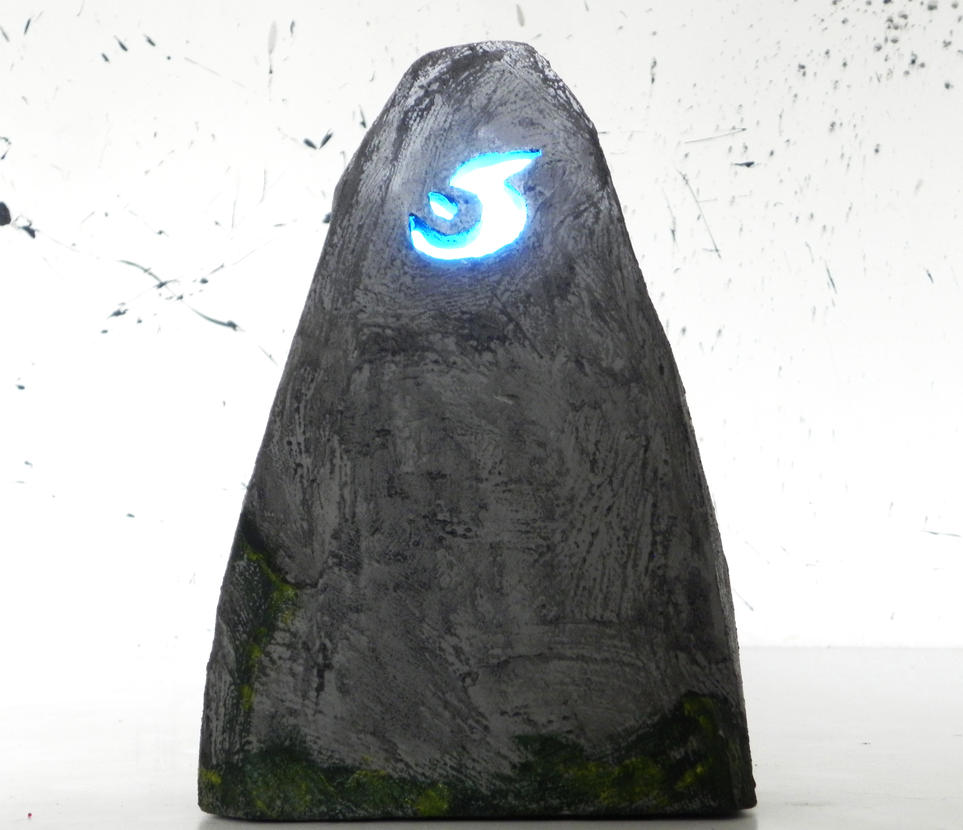 Meeting stone World of Warcraft night lamp by TheGoblinFactory