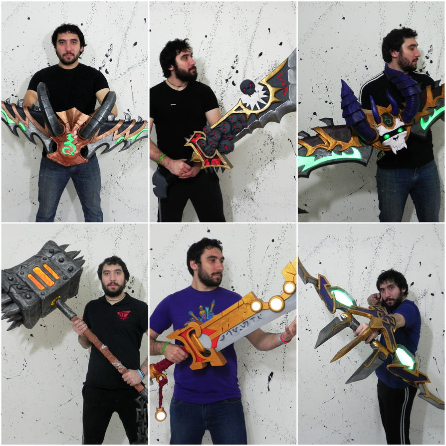 I love making weapons from games IRL WOW edition by TheGoblinFactory