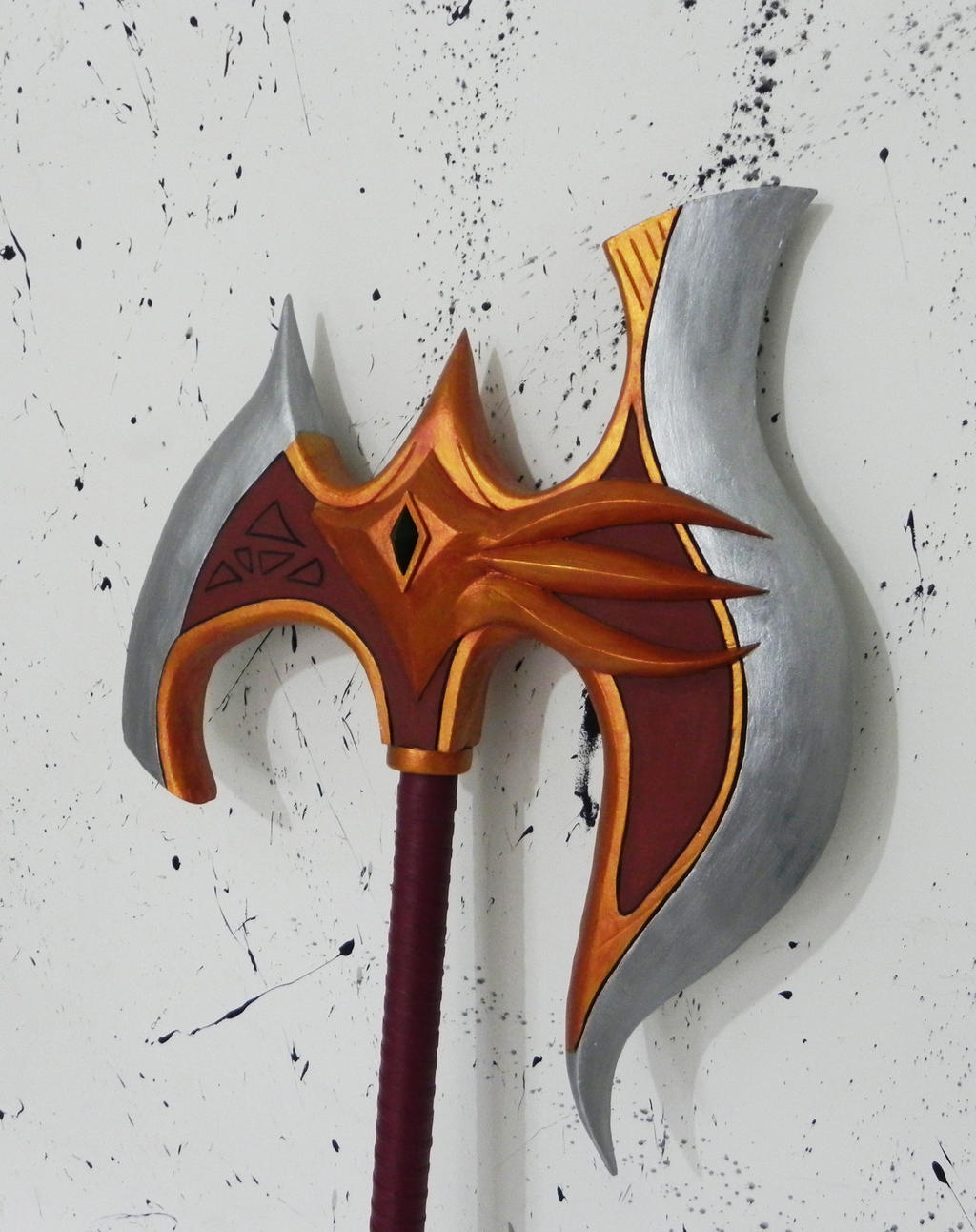 Lord Darius axe League of Legends by TheGoblinFactory