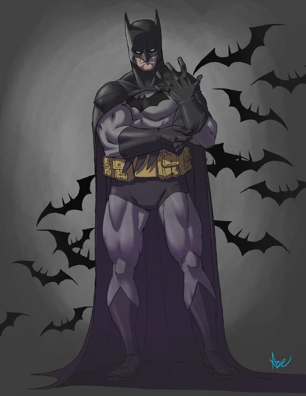 Batman by ArtistAbe