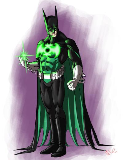 Green batman suit