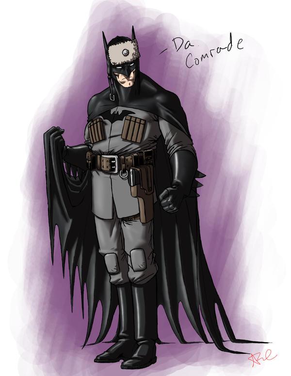 Batman Red Son Batman Red Son by ArtistAbe
