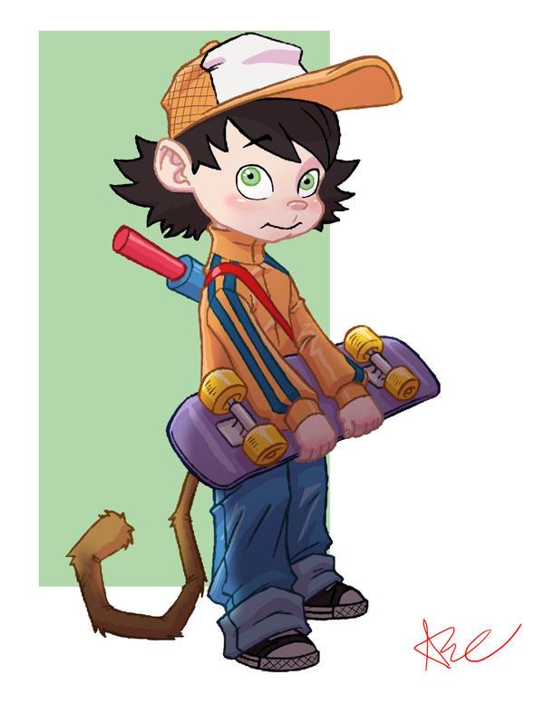 Goku re imagine by ArtistAbe