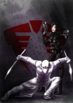 Baroness and Storm Shadow