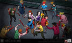 Bite Me: Motion Comic Art Surrounded