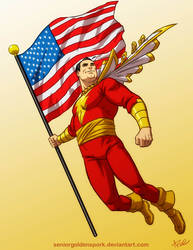 Marvelously Patriotic by ArtistAbe