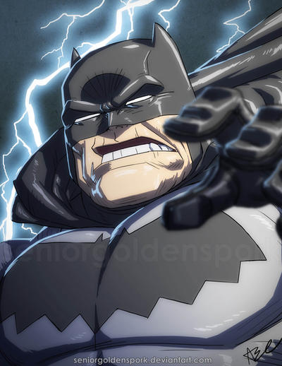 Dark Knight Returns BATMAN by ArtistAbe