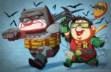 Mr. Dark Knight Returns by ArtistAbe