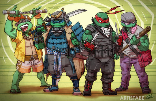 Ninja Turtles: Into Their Own