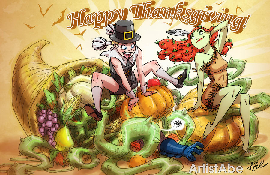 Happy Thanksgiving 2013 by ArtistAbe