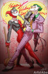 Harley Joker Happy Valentines Day