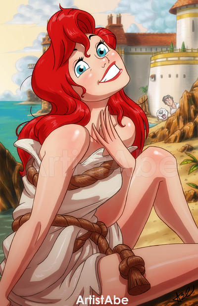 Ariel: Speechless by ArtistAbe