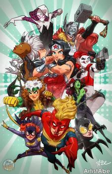 I Heart Comic Book Women
