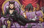 Haunted Arkham Catwoman