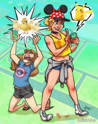 Pokemon Noooooo!!! by ArtistAbe