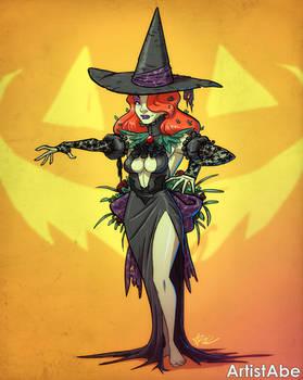Halloween Poison Ivy Witch