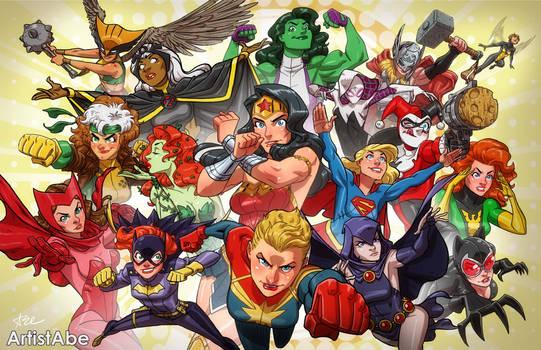 I Heart Comic Book Women 2