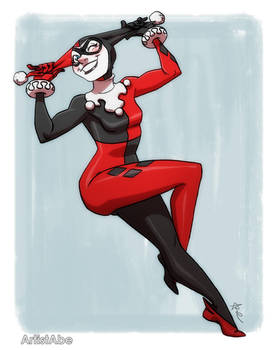Harley Quinn Wink