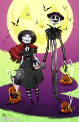 Jack and Sally: Spooky Couple