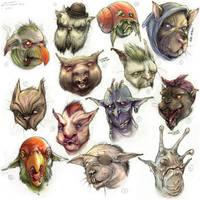 Goblin Montage 01 by yvash
