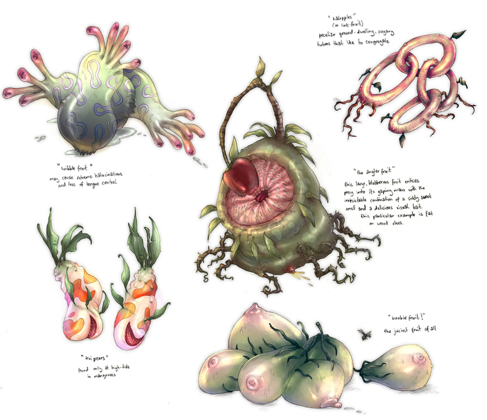 Weird Fruit by yvash