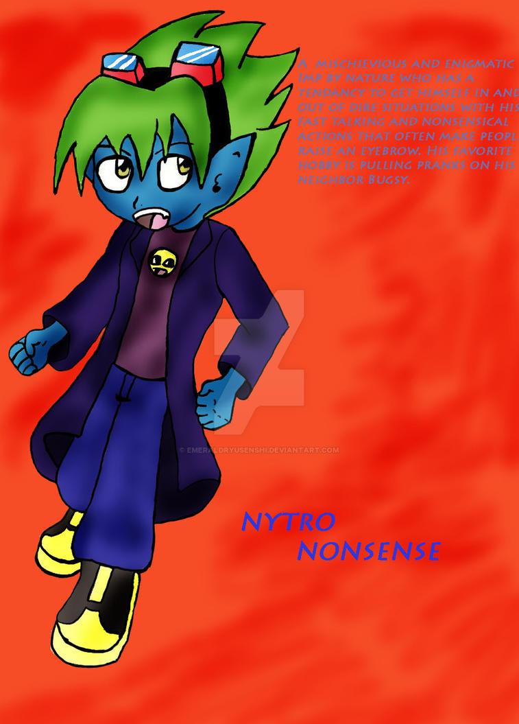 Nytro Nonsense by EmeraldRyuSenshi