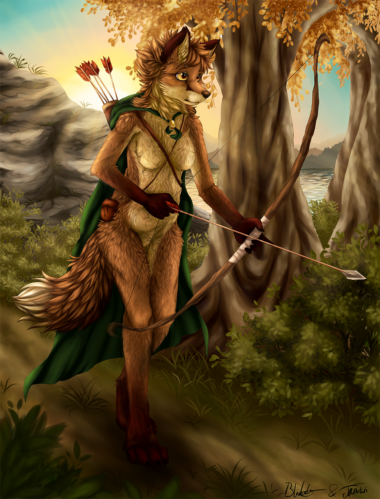 Huntress by Blackkaries