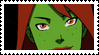 Young Justice Miss Martian Stamp by faolan15
