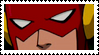 Young Justice Flash Stamp by faolan15