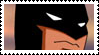 Young Justice Batman Stamp by faolan15