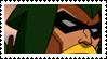 Young Justice Green Arrow Stamp by faolan15