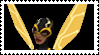 Young Justice Bumblebee Stamp by faolan15