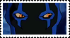 Young Justice Blue Beetle Stamp by faolan15
