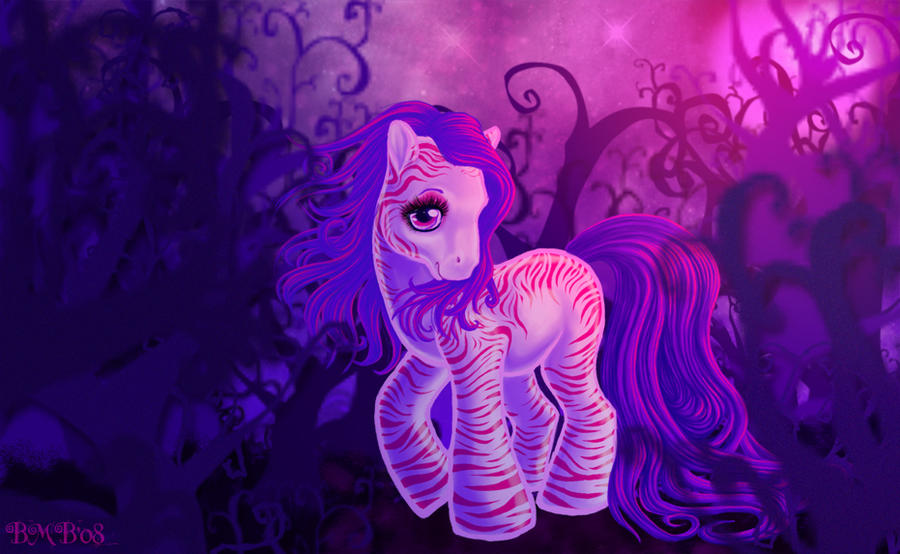 My Little Candy Zebra by squeekaboo
