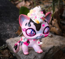 Sweet Cupcake Kitty LPS Custom